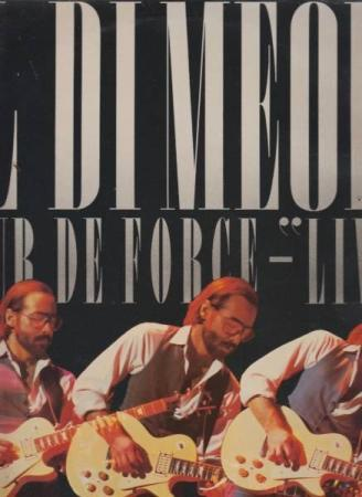AL DI MEOLA - TOUR DE FORCE-LIVE  VG+