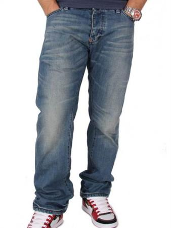 Superdry Dean Denim Straight Light Indigo jeans