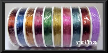 1000 mtr. SMYKKEWIRE (TIGER-TAIL) 0,45 mm...      kr. 250,00