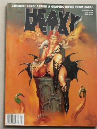 HEAVY METAL 2000: JANUARY