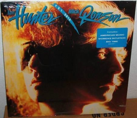 """Ian Hunter/Mick Ronson- Yui Orta USA LP 1989 Factory Sealed - Lillesand - IAN HUNTER / Mick Ronson """"Yui Orta"""" USA LP Mercury Records 1989 Cat # 838 973-1 Original 1st Pressing Still Factory Sealed ! It contains 10 tracks; 1) American Music 2) The Loner 3) Womens Intuition 4) Cool 5) Big Time 6) Livin' In A Heart 7)  - Lillesand"""