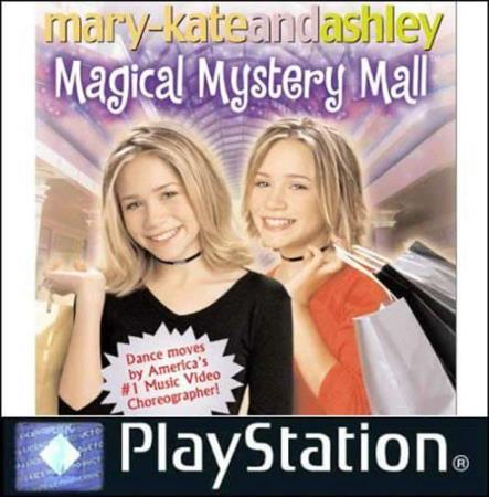 MARY KATE & ASHLEY OLSEN - MAGICAL MYSTERY MALL (PS1)