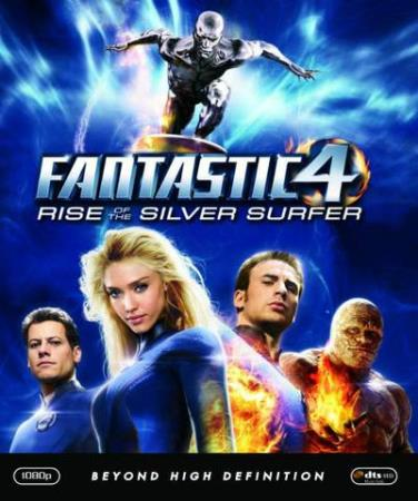 FANTASTIC FOUR 2 - RISE OF THE SILVER SURFER (BLU-RAY)