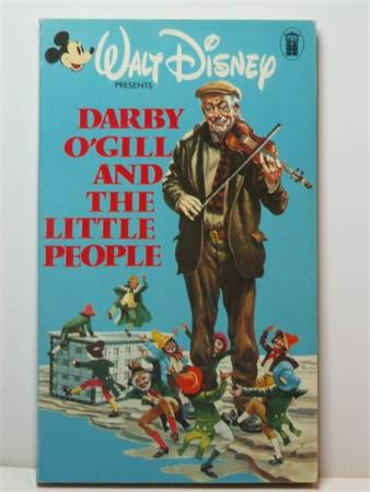 WALT DISNEY: Engelsk - Darby O`Gill and the little people