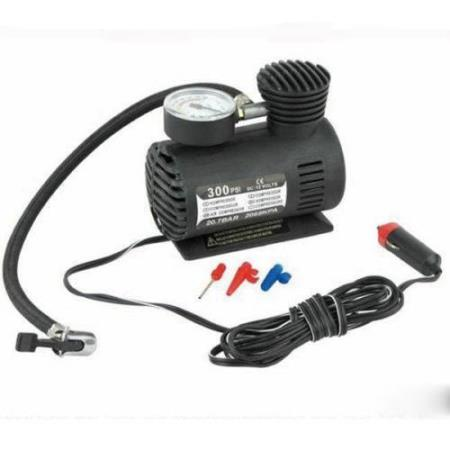 Mini AUTO Portable Inflator Air Pump Compressor 12V Car Plug - Tynset - Mini AUTO Portable Inflator Air Pump Compressor 12V Car Plug  - Tynset