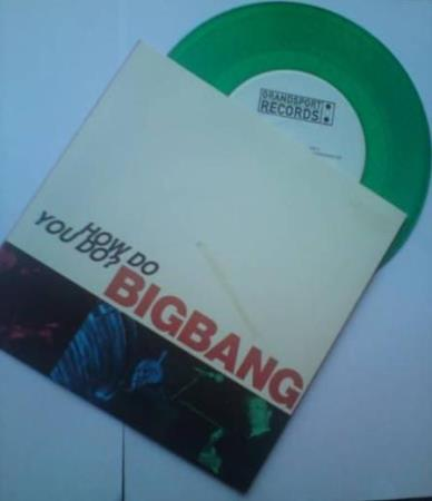 BigBang - How Do You Do - Big Bang - Grønn Vinyl Singel