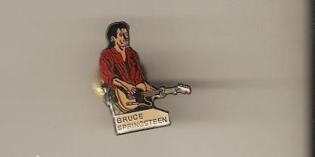 Bruce Springsteen Emballjert Pin