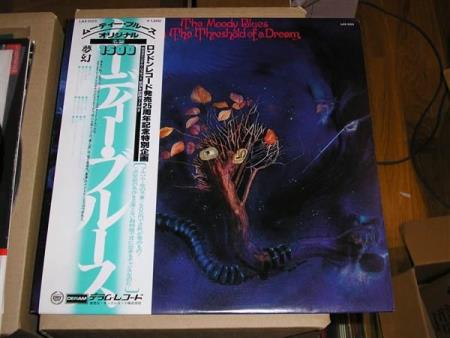 Moody Blues - On The Threshold of a Dream - Japan - Oslo - The Moody Blues – On The Threshold Of A Dream - LAX 1023 - DERAM - JAPAN - 1978 OBI - Insert Side A: 1. In The Beginning 2. Lovely To See You 3. Dear Diary 4. Send Me No Wine 5. To Share Our Love 6. So Deep Within You Side B: 1. Never Comes The D - Oslo