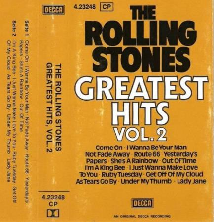 THE ROLLING STONES.-VOL 2-GREATEST HITS.1977.