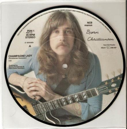 Bjørn Christiansen - Champagne Lady - Picture Disc Aunt Mary