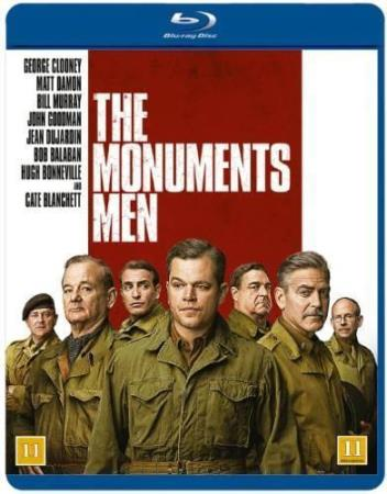 THE MONUMENTS MEN (2014) (BLU-RAY)