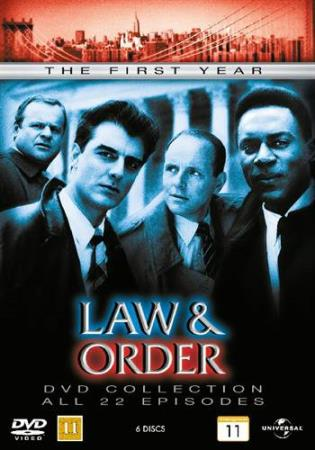 LAW & ORDER - SESONG 1 (6 DISC) (DVD)