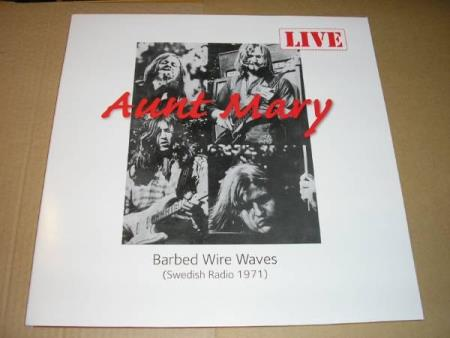 Aunt Mary - Barbed Wire Waves - Sort Vinyl