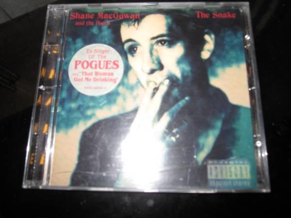 Shane Macgowan The Snake The Pogues Vokalisten Selges