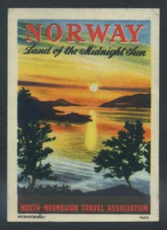 "North-Norwegian Travel Association.  ""Norway - Land of the"