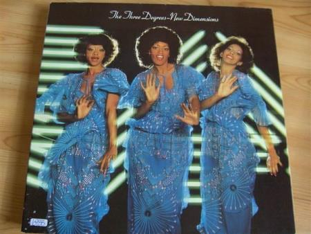 THE THREE DEGREES:  NEW DIMENSIONS