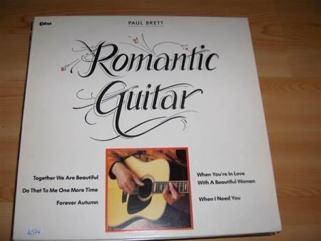 PAUL BRETT:  ROMANTIC GUITAR