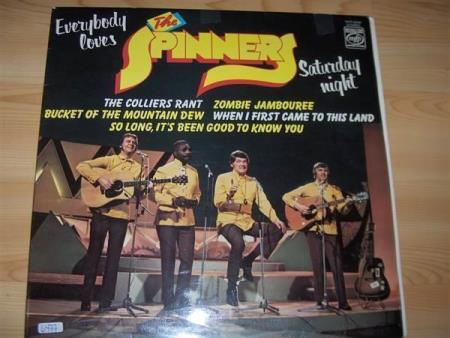 THE SPINNERS.  EVERYBODY LOVES SATURDAY NIGHT