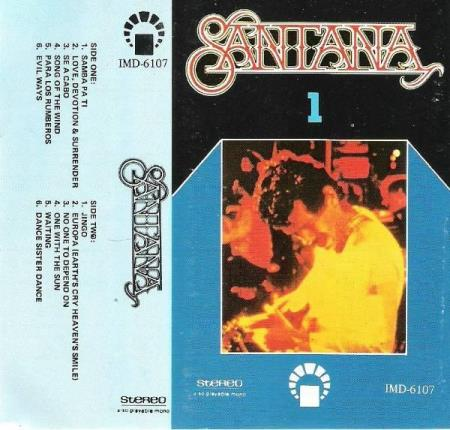 SANTANA.-SONG OF THE WIND.