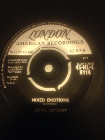 ANITA BRYANT - PAPER ROSES/ MIXED EMOTIONS