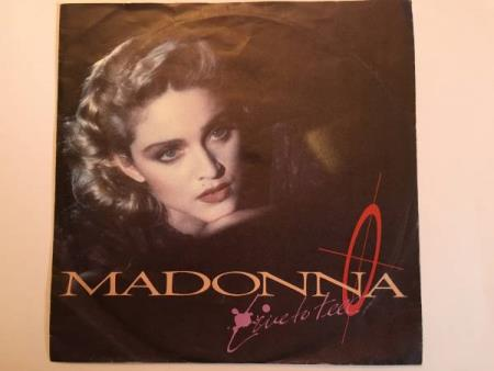"""Madonna - Live to tell (7"""" single)"""