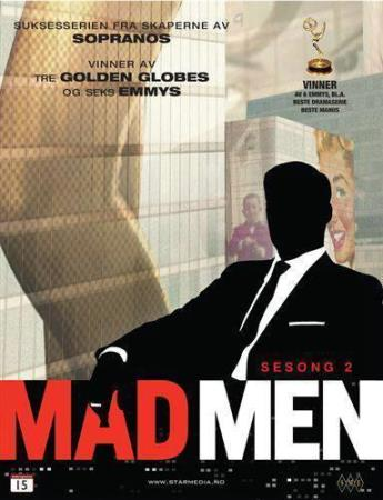 MAD MEN - SESONG 2 (4 DISC) (DVD)