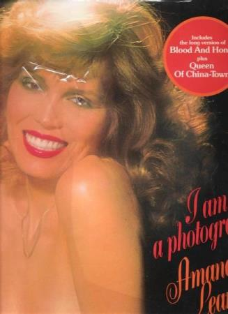 AMANDA LEAR.-I AM A PHOTOGRAPH.-1977.-QUEEN OF CHINA-TOWN.
