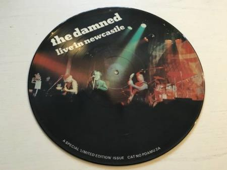 The Damned ‎– Live In Newcastle (LP)