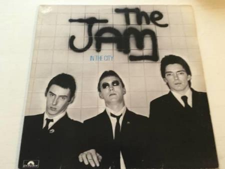The Jam ‎– In The City  (LP)