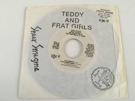 """Teddy And The Frat Girls – Audio Suicide (EP 7"""" MEGA RARE!)"""