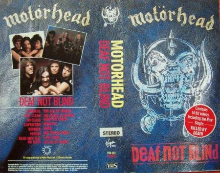 Motörhead -  Deaf Not Blind - VHS