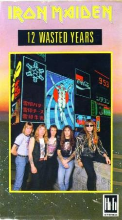 Iron Maiden - 12 Wasted Years - VHS - Oslo - VHS i Excellent tilstand  - Oslo