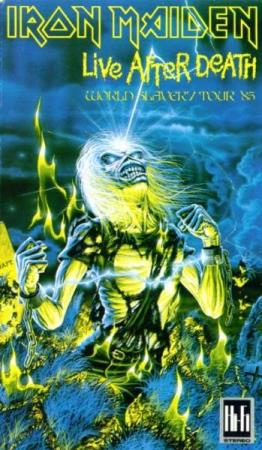 Iron Maiden - Live After Death (World Slavery Tour 85) VHS