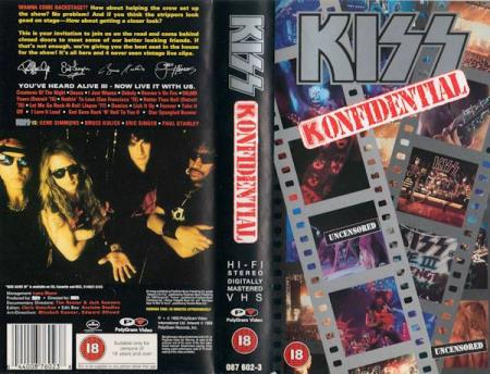 Kiss - Konfidential - VHS