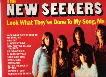 THE NEW SEEKERS.-LOOK WHAT THEY;VE DONE TO MY SONG,MA.-1970.