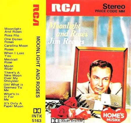 JIM REEVES.-MOONLIGHT AND ROSES.