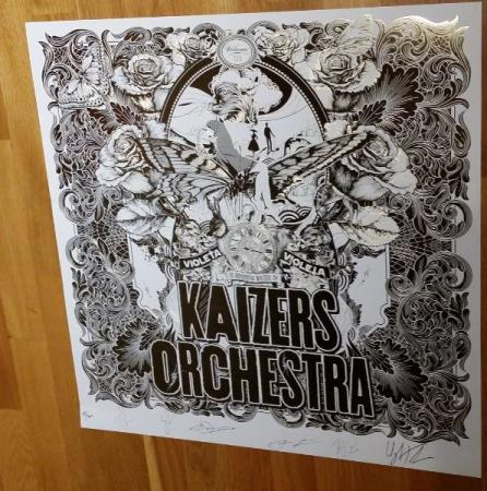 Kaizers Orchestra - Volume III - Limited Edition Poster nr 3