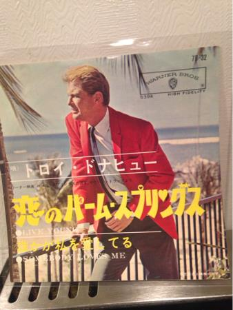TROY DONAHUE  -LIVE YOUNG /SOMEBODY LOVES ME