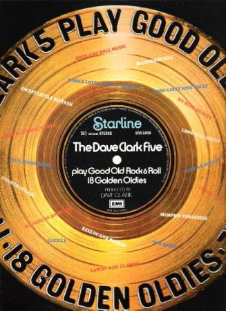 THE DAVE CLARK FIVE.-PLAY GOOD OLD ROCK & ROLL.18 GOLDEN OLD