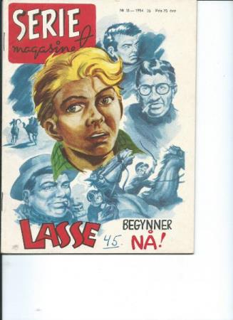Serie magasinet Nr.  13  1954 ( med Tex Willer )
