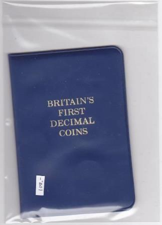 Britains First Decimal Coins