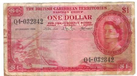 East Caribbean States 1 $ 1964