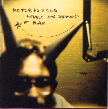 Motorpsycho - Angels And Daemons At Play - 2LP - Oslo - Motorpsycho - Angels And Daemons At Play - COL 487 301 1 - Columbia - Norge - 1997 1. press og Gatefold Sleeve Side A 1 Sideway Spiral I 2 Walkin On The Water / You Lied 3 Heartattack Mac 4 Pills, Powders & Passionplays Side B: 1 In The Family 2 Un - Oslo