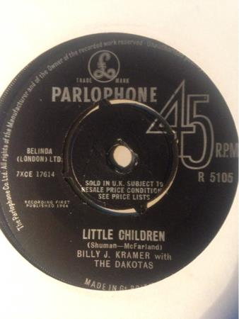 BILLY J KRAMER - LITTLE CHILDREN
