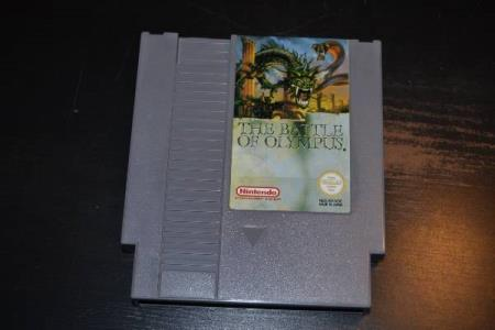 NES - The Battle of Olympus