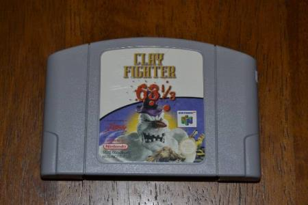 N64 - Clay Fighter 63 1/3