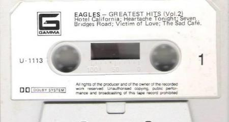 EAGLES.-GREATEST HITS.-VOL 2.