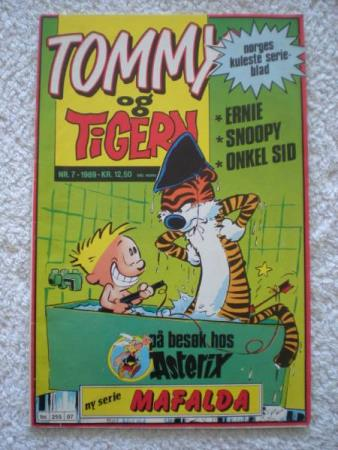 TOMMY og TIGERN nr.7 1989