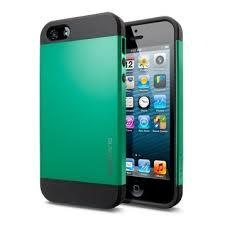 Slim armor, green color, Iphone 5/5S