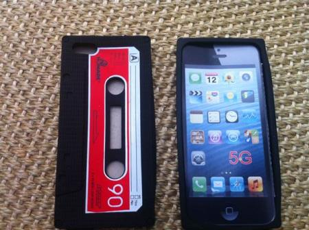 silicone covers, black color, Iphone 5/5S